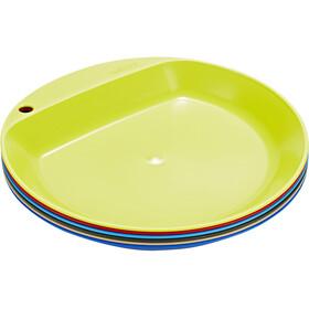 Wildo Camper Plate Flat Set, farverig
